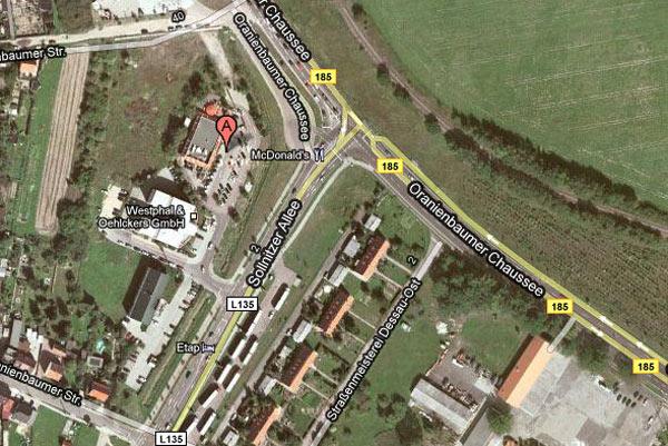 Abfahrtsort Dessau LE-Tours
