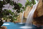 Tropical Island Wasserfall