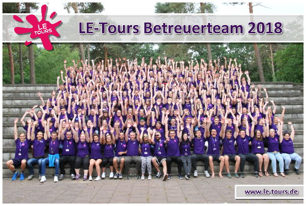LE-Tours Betreuerteam