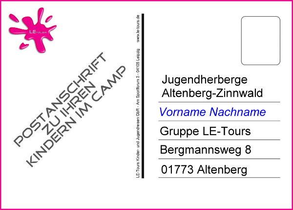Anschrift-Postkarte_Wintercamp Altenberg_LE-Tours 2014_600