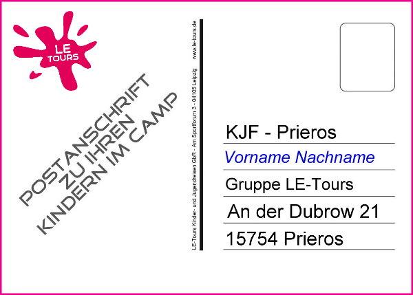 Anschrift-Postkarte_Ferienlager Prieros_LE-Tours 2014_600