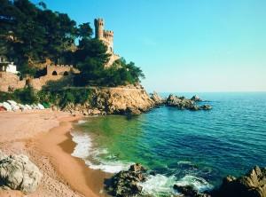LLORET DE MAR. Playa de Sa Caleta y Castillo _1700368