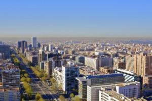 Madrid. Paseo de la Castellana