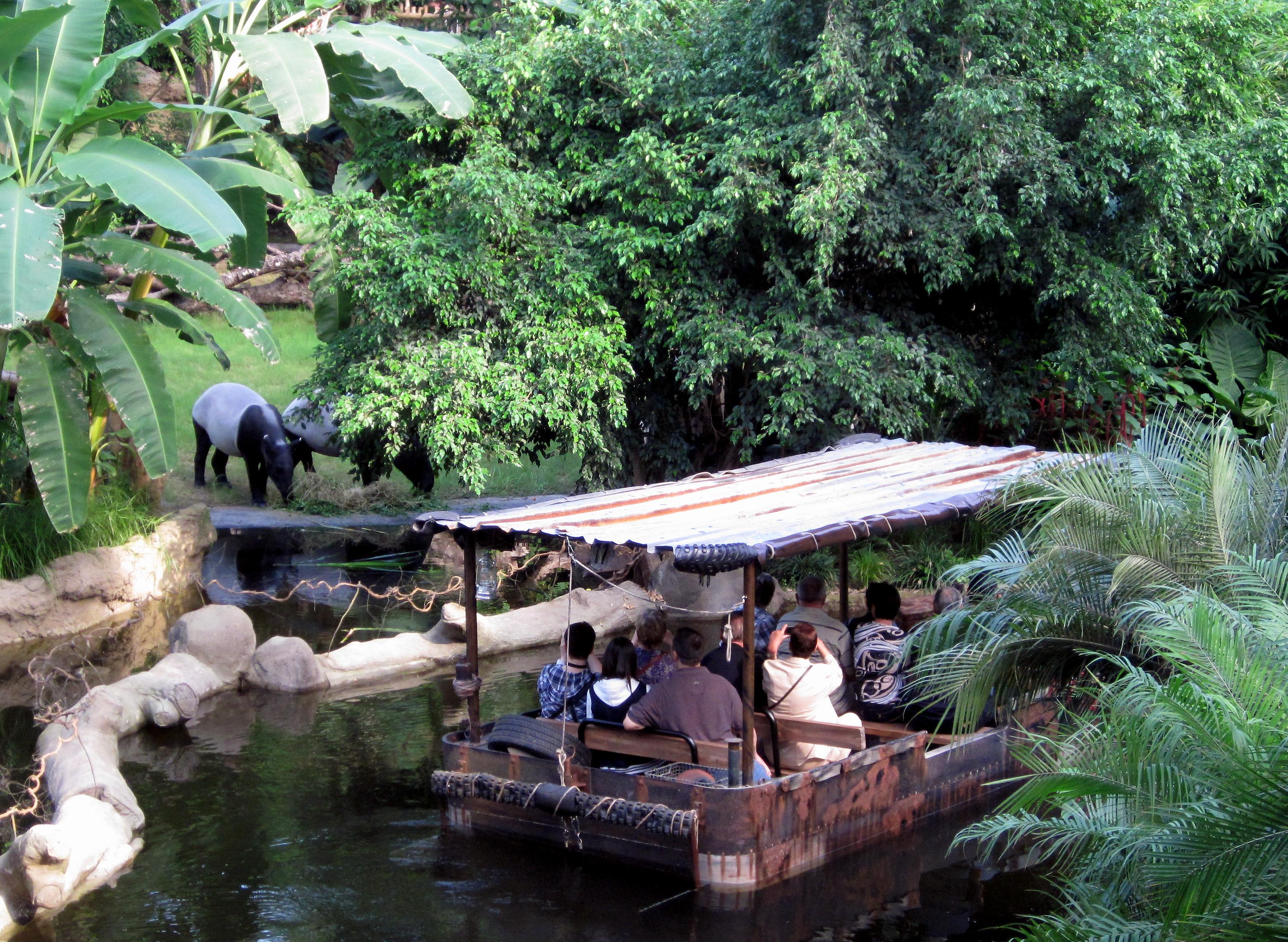 Bootsfahrt duch das Gondwanaland