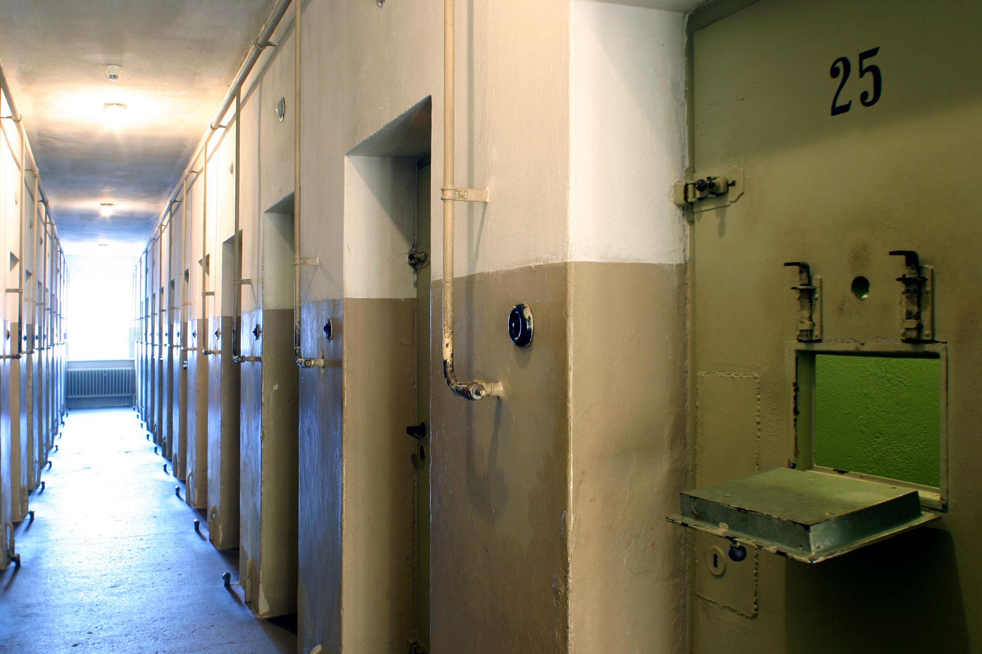Gedenkstätte Buchenwald - Arrestzellenbau