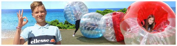 Bubble-Ball Freizeitprogramm LE-Tours Grömitz 2021